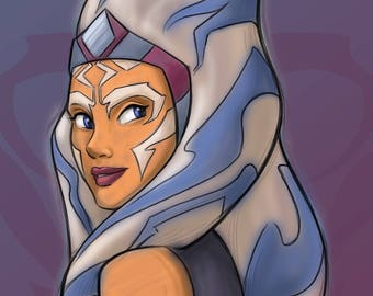 Patreon subscribers only: Ahsoka Postcard