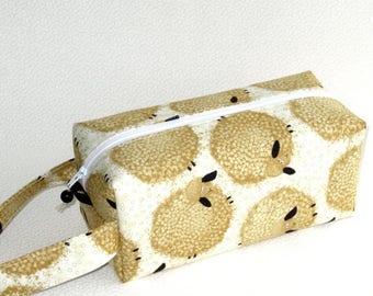 Boxy Bag Knitting Project Bag - Wash Day fluffy sheep