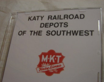 Katy Railroad Depots of the Southwest 60 Slides on DVD