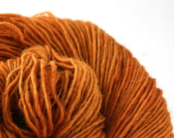 Olana fingering weight cormo alpaca angora blend yarn 300yds/274m 2oz/57g Ochre