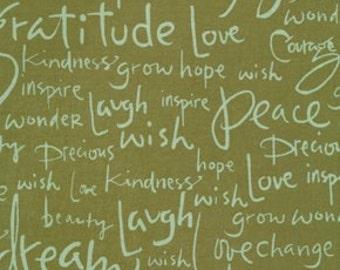 Kathy Davis Sew many words  olive Journeys BTHY