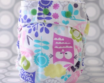 Cloth Diaper Cover PDF Sewing Pattern, Sized Diaper Cover Sized Newborn to Large