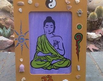 Framed Buddha Painting
