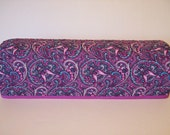 Cricut Explore Air / Expression/ Scan n Cut Cover/ Silhouette Cameo/ Cricut Cutter Protector/ Quilted Dust Cover/ Orchid Gray & Teal Paisley