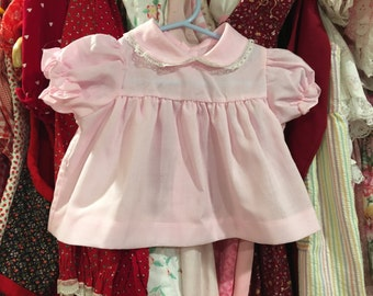 Pink Baby Dress 3/6 Months