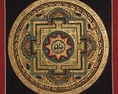 Mandala Thangka Painting from Nepal Non-Profit