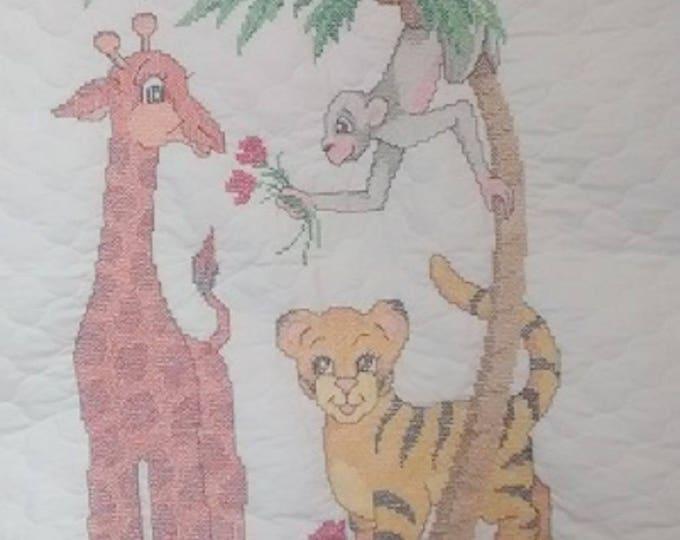 Jungle Crib Cover