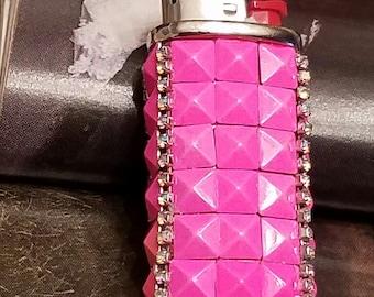 Bic Mini Lighter Case/Neon Lights