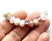Spacers mixed pink ivory white