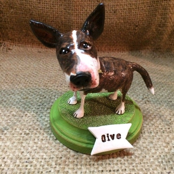 Custom Folk Art Dog on wooden base based on your pets photos