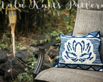 Lotus Cushion Pattern