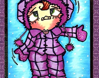 1332 Winter Outfit Digi Stamp
