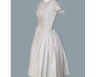 Rare 1950's Lillie Rubin Woman's Evening Party Dress