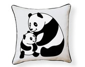 Little Panda Pillow