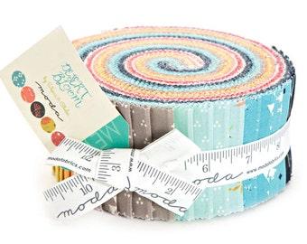 "SALE 40% Off Moda DESERT BLOOM Jelly Roll 2.5"" Precut Fabric Quilting Cotton Strips 37520JR"