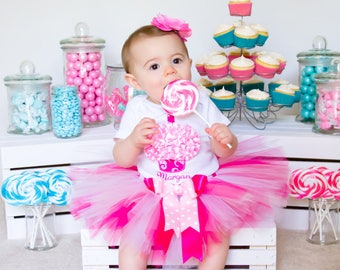 Baby Tutu 1st Birthday, First Birthday Outfit Girl, Cupcake Birthday, Cake Smash Outfit Girl