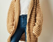 Vintage Chunky Textured Sweater