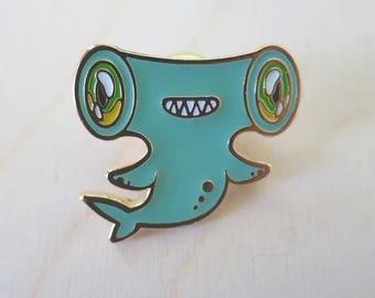 Hammerhead Shark - Enamel Pin