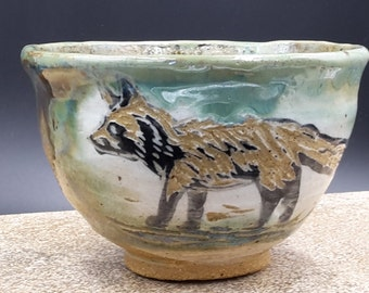 fox tea bowl