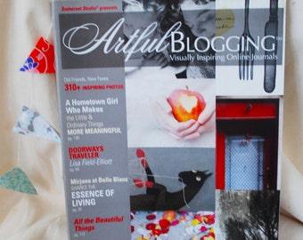 Artful Blogging, May June July 2011, artist magazine, blogging magazine, Somerset Studio, used magazine