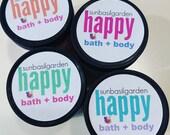 Gift for Her. Sugar Scrub. Body Polish. PINK SUGAR Scrub. LARGE Jar. 10 oz. Women Gift. Mom Gift. Birthday Gift. Shaving Emulsified Scrub
