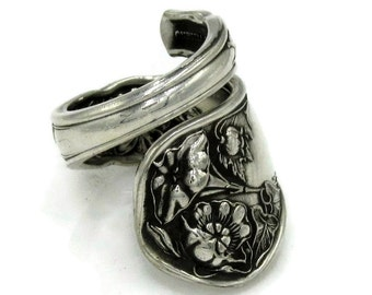 Wrapped Spoon Ring Wildwood