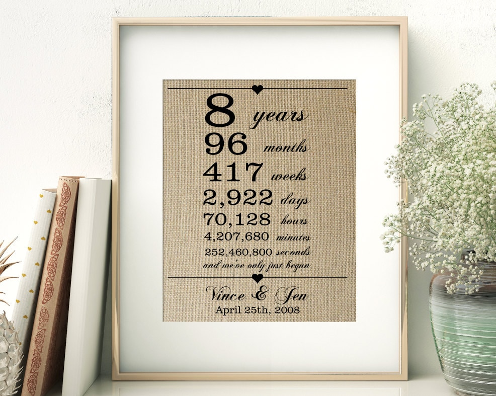 8th Wedding Anniversary Gift Ideas For Husband: 8Th Wedding Anniversary Gifts For Husband