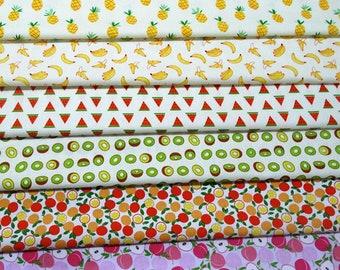 4373 - Fruit Twill Cotton Fabric - 62 Inch (Width) x 1/2 Yard (Length)
