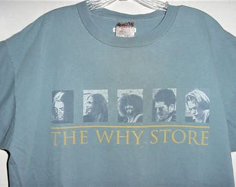 Vintage 90s The Why Store Band TShirt XL