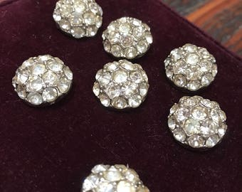 50's rhinestone buttons-7