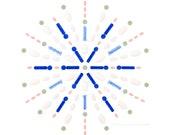 "B: Metformin, Atorvastatin, Glimepiride, Lisinopril, 6 used lancets, 12 sterile lancets (Healthcare series No.3)  8""x8"" photograph"