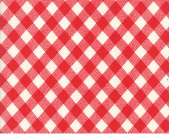Basics (55124 31) Vintage Picnic Gingham Red Bonnie & Camille