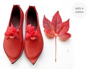 Everyday comfort shoes, TITANIA, Handmade Leather Fairytale Shoes by Fairysteps in your colour and size