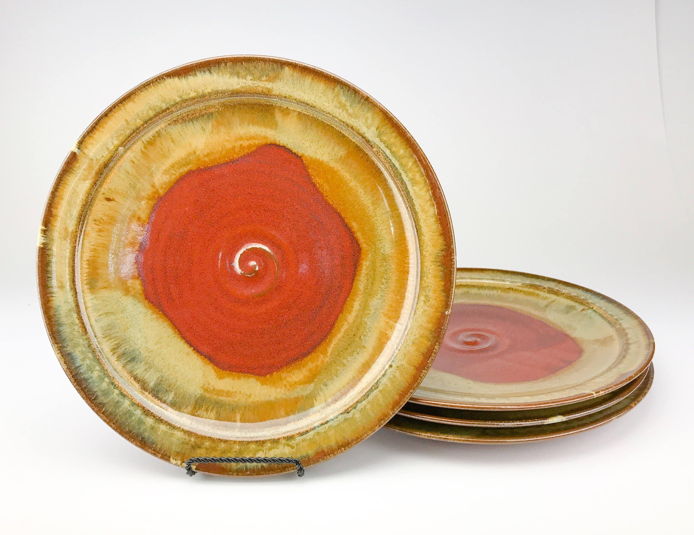 dinner plates handmade stoneware dinner plates pottery