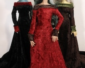 Medieval Gown for MSD BJD doll INSTOCK Sale