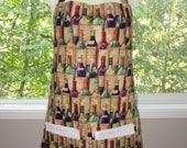 womens aprons - aprons for women - full aprons - wine cellar