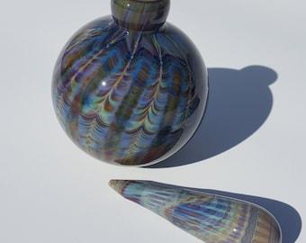 Calcedonio Glass Perfume Bottle - Free Shipping stock#epw-11