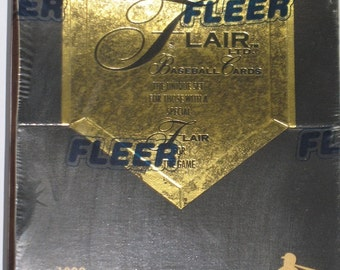 Fleer Flair Ltd 1993 Baseball Premiere Edition Boxed Cards
