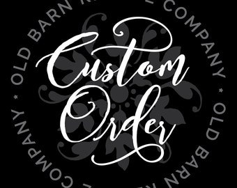 Custom order for Diane D - Give us this day Wall Decal