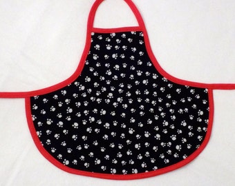 Paw Prints Bottle Apron from The Farmer's Daughter