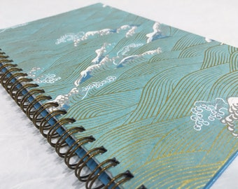 2017-2018 Small Daily Planner - Blue Part 3 - Midyear Planner - Appointment Book - CHOOSE YOUR COVER