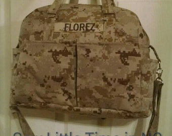 SALE: Use 15Off coupon to get 15% off, USMC MARPAT Desert Camouflage Diaper Bag