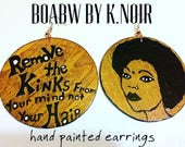 Remove The Kinks from your Mind Earrings