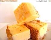 New Year SALE Julie's Fudge - LEMON CHEESECAKE With Graham Cracker Crust - Over One Pound