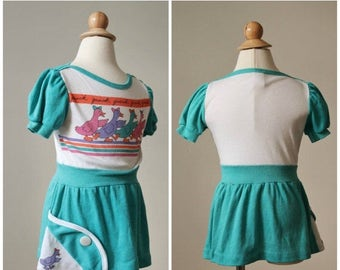 25% OFF SALE 1980s Quack Quack Dress >>> Size 3t