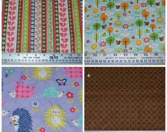 Snuggle Flannel Fabric 1/4 yard