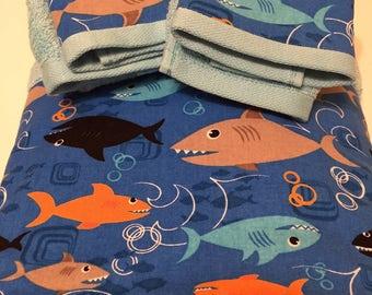 Shark Towel Set
