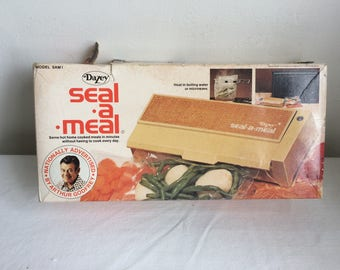 1970s Electric Seal A Meal DAISEY Products Co in Original box NOS Never used with bags White Works NOS