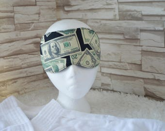 Money Eye Mask for Sleep, Travel, etc. ~ READY TO SHIP ~ Gift for Her, Gift for Him, Teachers, Friends, All Occasion Gifts
