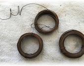 Rusty Tin Wire 3 rolls 30 ft Each Craft Supplies